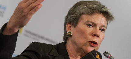 Rose Gottemoeller stated the White House does not believe that the Ukraine conflict will lead to nuclear war. (photo: Pacific Press/picture alliance)