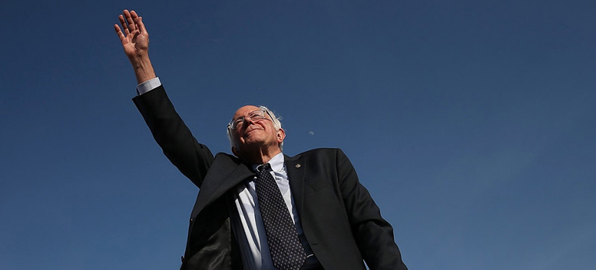 Bernie Sanders. (photo: Win McNamee/Getty Images)