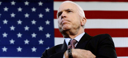 John McCain. (photo: Kasfter/AP)