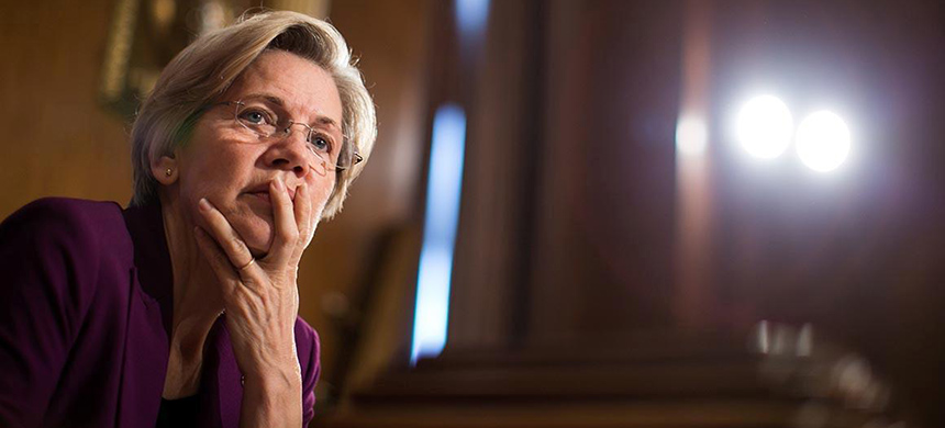 Elizabeth Warren. (photo: Getty Images)