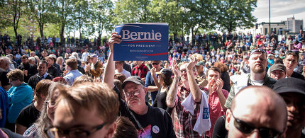 A recent Bernie Sanders rally in Minneapolis, MN, held on May 31, 2015. (photo: Sanders for President Campaign)