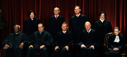 United States Supreme Court. (photo: Roger L. Wollenberg/Bloomberg/Getty)