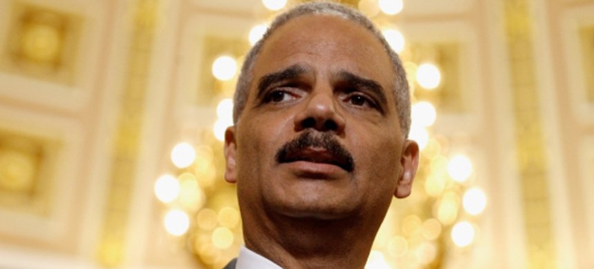 Eric Holder. (photo: Chip Somodevilla/Getty Images)