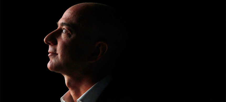 Jeff Bezos. (photo: Patrick Fallon/Bloomberg/Getty Images)