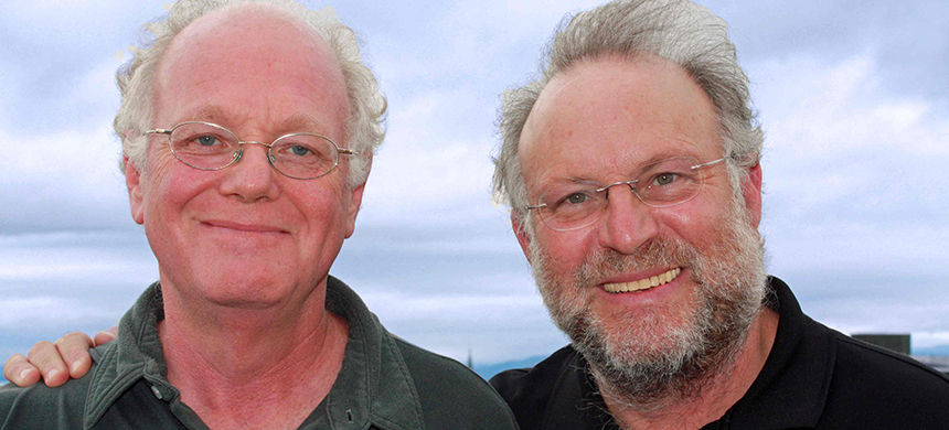 Ben Cohen and Jerry Greenfield. (photo: unknown)