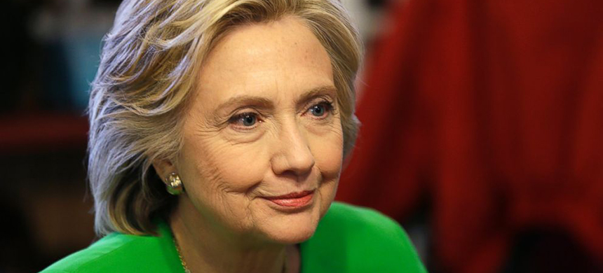 Democratic presidential candidate Hillary Rodham Clinton. (photo: Charlie Neibergall/AP)