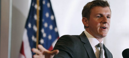 Conservative activist James O'Keefe. (photo: Chip Somodevilla/Getty)