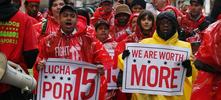 The Fight for Fifteen. (photo: FightFor15.org)
