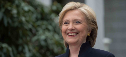 Hillary Clinton. (photo: Reuters)