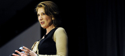 Former Hewlett-Packard CEO Carly Fiorina. (photo: The Atlantic)