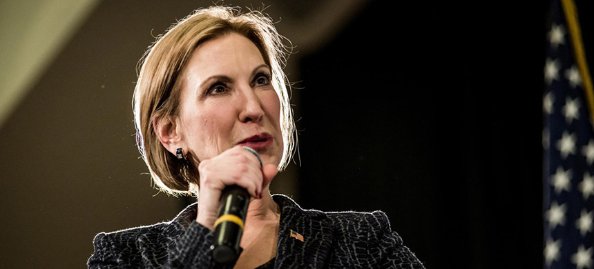 Carly Fiorina. (photo: Getty Images)