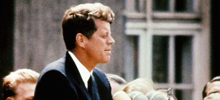 President John F. Kennedy. (photo: Getty/AFP)