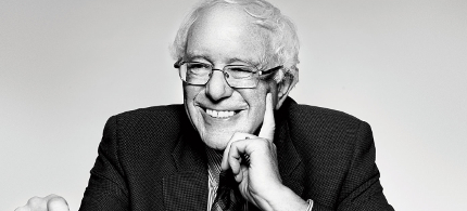 Bernie Sanders. (photo: Marius Bugge/The Nation)