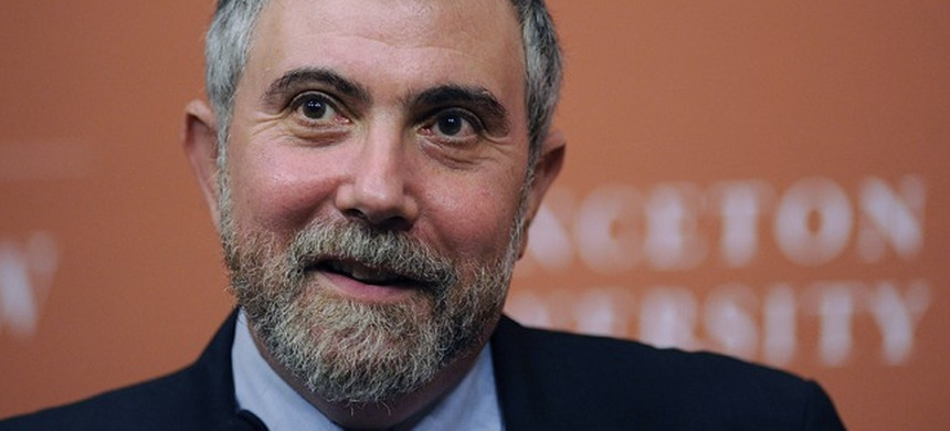 Economist Paul Krugman.  (photo: Princeton University)