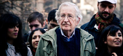 Noam Chomsky. (photo: Andrew Rusk)