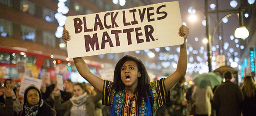 A Black Lives Matter rally. (photo: PA)