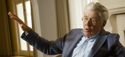 Billionaire Republican megadonor Charles Koch. (photo: Getty Images)