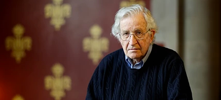 Noam Chomsky has rejected Erdogan's invitation to visit Kurdish areas in the southeast of Turkey. (photo: Graeme Robertson)
