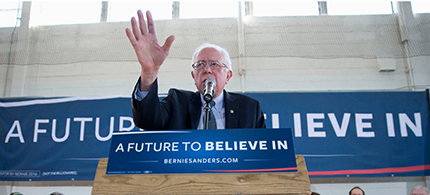 Senator Bernie Sanders. (photo: Matt Rourke/AP)