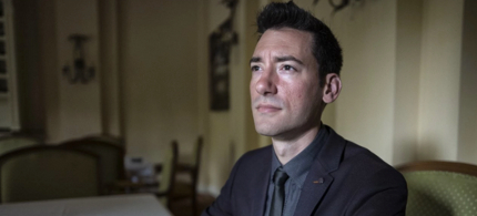 David Daleiden, founder of the Center for Medical Progress, had posed as a biotechnology representative to infiltrate Planned Parenthood affiliates and surreptitiously record his efforts. (photo: Charles Ommanney/WP)