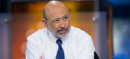 On CNBC this week, Goldman Sachs CEO Lloyd Blankfein expressed dismay that Bernie Sanders has no interest in 'compromising' with Wall Street. (photo: Adam Jeffery/CNBC/Getty Images)