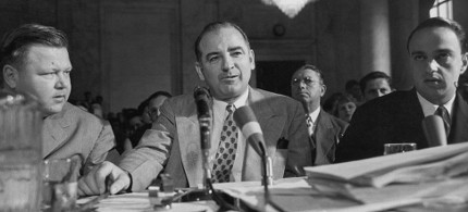 Former Wisconsin senator Joseph McCarthy. (photo: Getty)