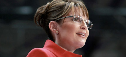 Sarah Palin speaking in Toledo, Ohio, 10/29/08. (photo: McCain-Palin 2008)