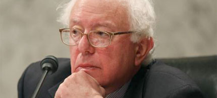 Sen. Bernie Sanders. (photo: WDCpix)