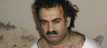 George W. Bush admitted that the US waterboarded 9/11 mastermind Khalid Sheik Mohammed. (photo: AP)