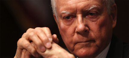 Republican Senator Orin Hatch of Utah. (photo: Charles Dharapak/AP)