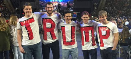 Donald Trump supporters. (photo: AP)