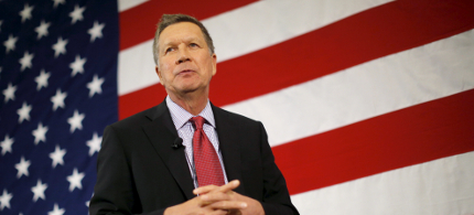 John Kasich. (photo: Brian Snyder/Reuters)