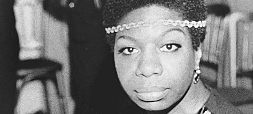 Nina Simone. (photo: AP)