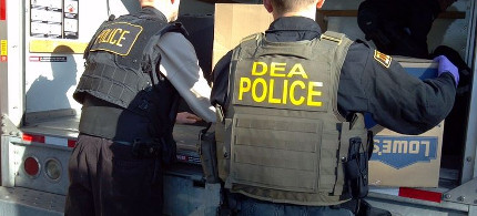 DEA agents. (photo: Getty)