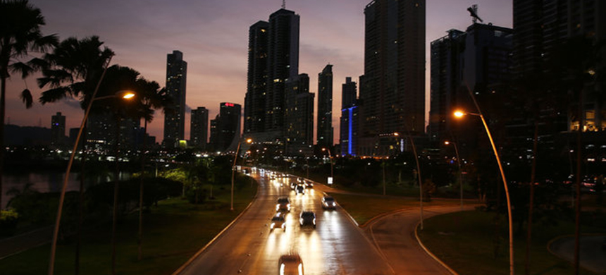 Panama City, home to the law firm Mossack Fonseca, from which the confidential documents known as the Panama Papers were taken. (photo: Joe Raedle/Getty Images)