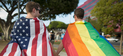 Sam-sex marriage supporters. (photo: David McNew/Getty)