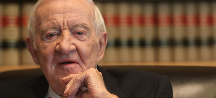 Former Supreme Court justice John Paul Stevens. (photo: Christopher Powers, USA Today)