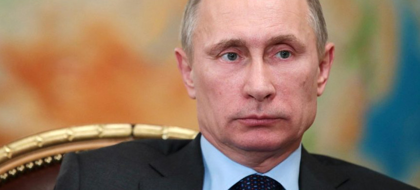 Russian president Vladimir Putin. (photo: Reuters)