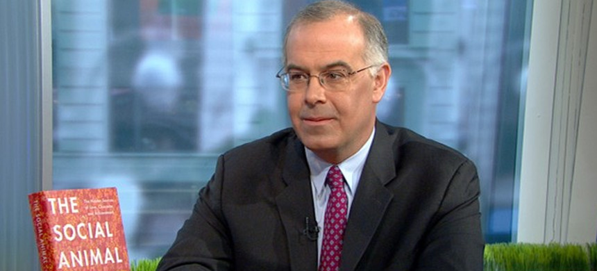 New York Times columnist David Brooks. (photo: PBS)