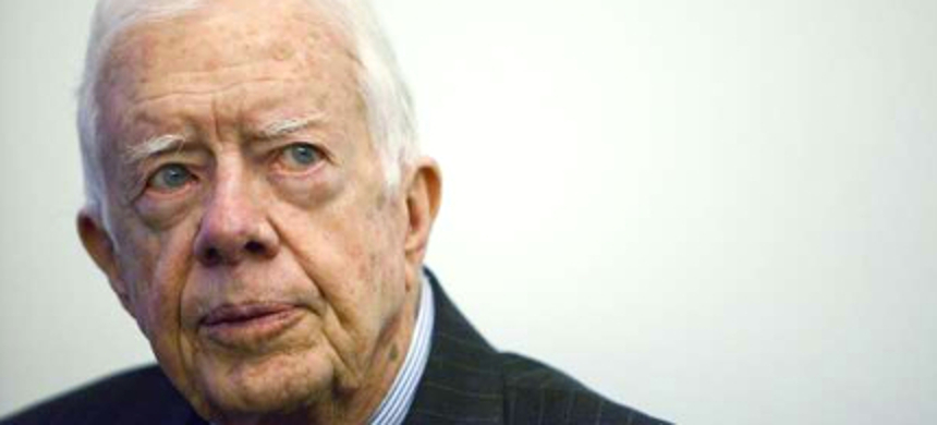 Jimmy Carter. (photo: Action Press/Rex)