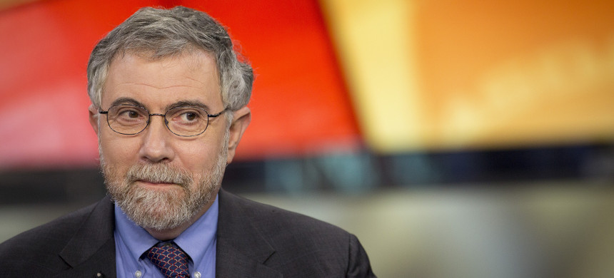Economist Paul Krugman. (photo: Reuters)