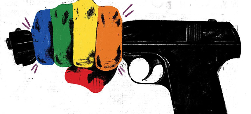 Can the gay rights movement beat the NRA? (photo: Curt Merlo/WP)