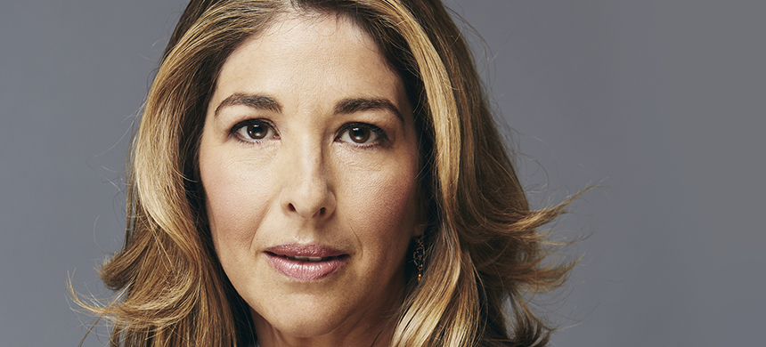 Naomi Klein. (photo: Maclean's)
