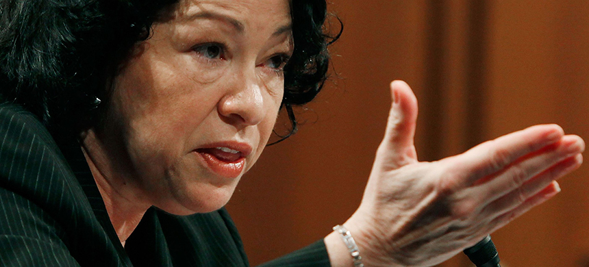Sonia Sotomayor. (photo: Getty Images)