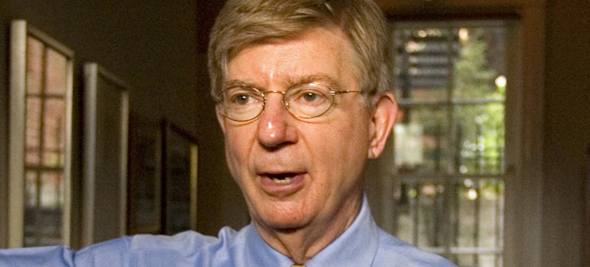 Conservative columnist and pundit George Will. (photo: J. Scott Applewhite/AP)