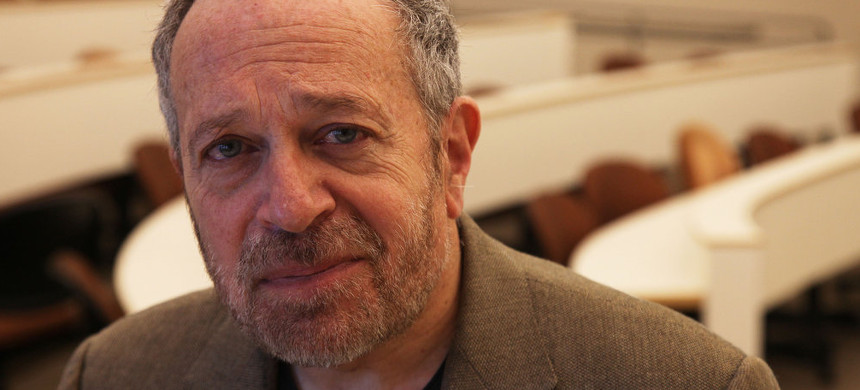 Robert Reich. (photo: Jim Wilson/The New York Times)