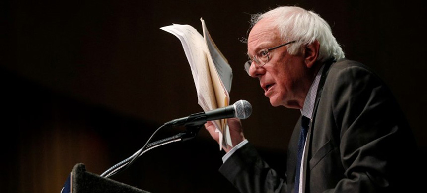 Senator Bernie Sanders. (photo: Brian Snyder/Reuters)