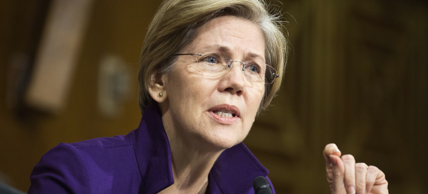 Sen. Elizabeth Warren. (photo: Joshua Roberts/Reuters)