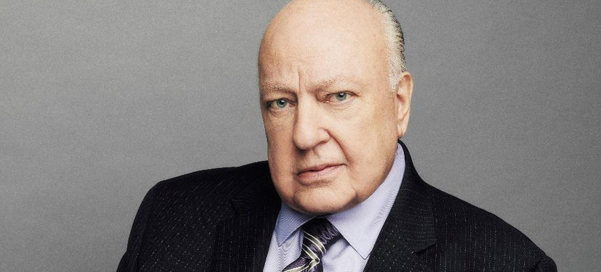 Roger Ailes in 2015, looking every inch at the peak of his power. (photo: Andrew Toth/Getty)