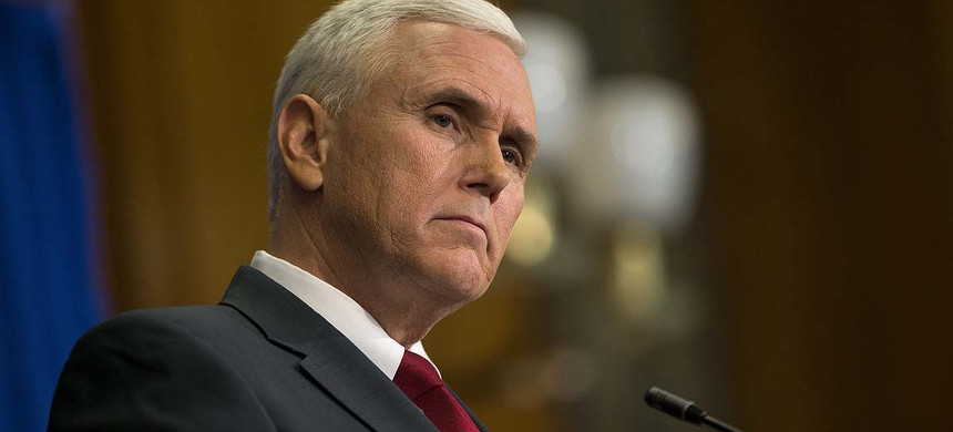 Vice presidential candidate Mike Pence. (photo: Getty)